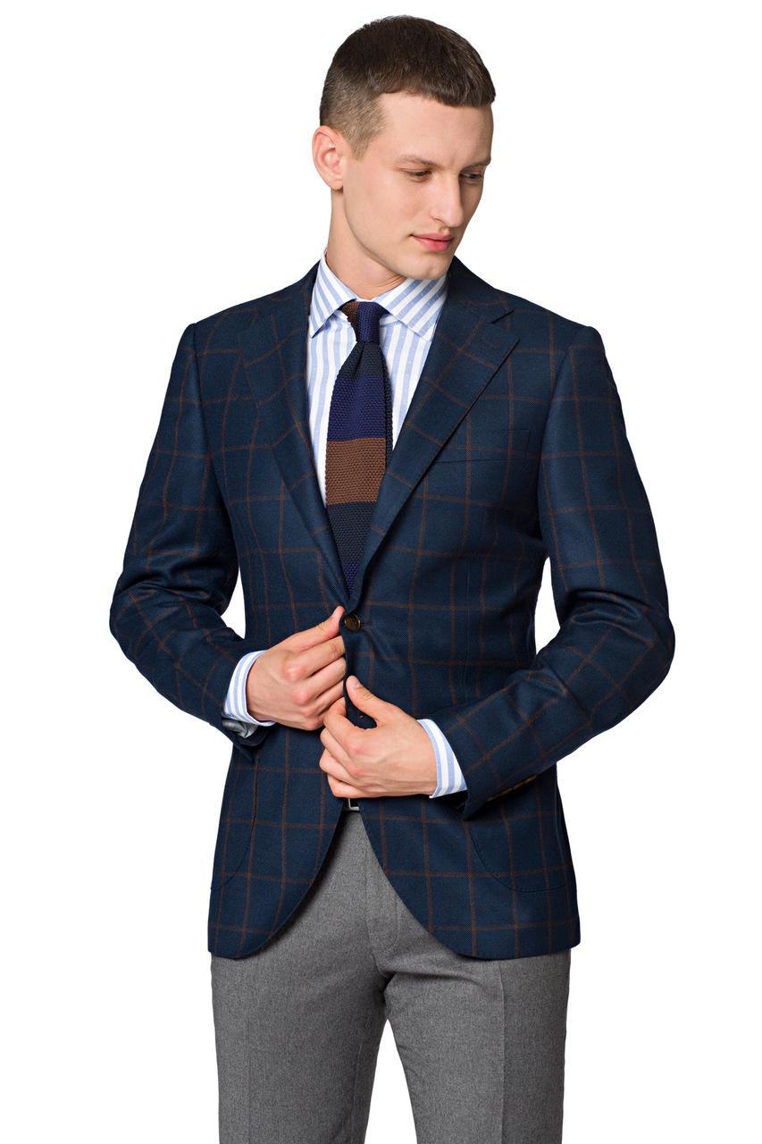 Koszule męskie we wzory – z czym je nosić?| blog  CU7js