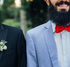 Jak ubrać się na ślub cywilny jako gość? Męskie stylizacje