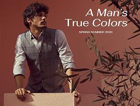 Czas odkryć prawdziwe kolory mężczyzny. Nowa, wiosenno-letnia kolekcja LANCERTO