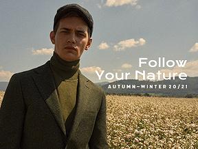 Podążaj za swoją naturą! Sprawdź nowości mody męskiej z kolekcji jesień-zima 2020