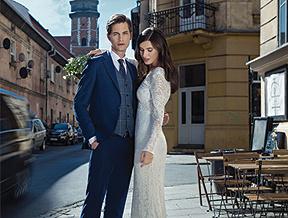Garnitur w kratę na ślub - czy to dobry wybór?