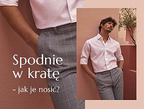 Męskie spodnie w kratkę – jak je nosić i z czym łączyć?