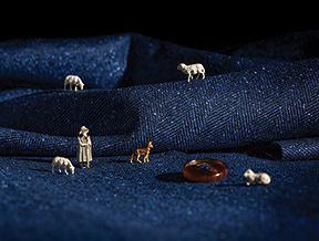 Kilka słów o tkaninach: garnitury Lancerto z wełny merino