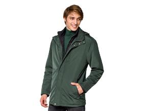 Czy zielona kurtka męska Cedar sprawdzi się w roli okrycia na zimę?
