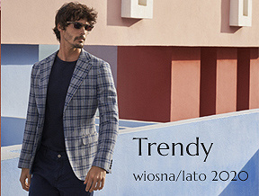 Moda męska – trendy wiosna - lato 2020