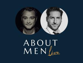 About Men Live! Jarosław Kuźniar & Marek Zmysłowski. Czarne jednorożce w dobie pandemii