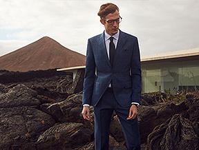 Jak nosić garnitur w kratę?