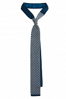 Krawat C.Turkusowy w Kratę