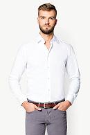 Koszula Biała Smart by Lancerto