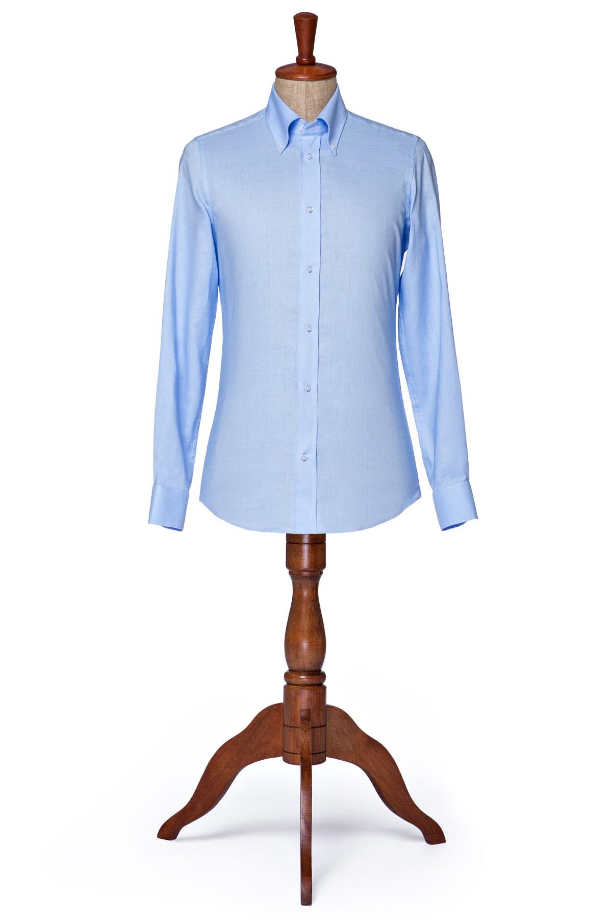 Koszula Niebieska Crossroad Lancerto KO092118000010.NIEBIESK