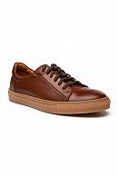 Sneakersy Brązowe Edison