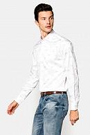 Koszula Biała z Nadrukiem Marisol