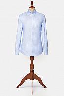 Koszula Błękitna w Kratę Ragusa