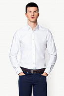 Koszula Biała Mikrowzór Graciosa