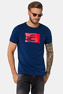 Koszulka Niebieska z Nadrukiem Jacob
