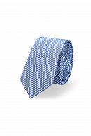 Krawat Niebieski w Kropki