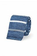 Krawat Niebieski w Paski