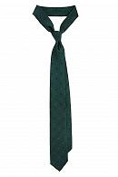 Krawat Zielony w Kwiatki