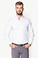 Koszula Biała Mikrowzór Libra