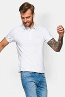 Koszulka męska biała polo Patrick
