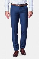 Spodnie męskie business mix szafir