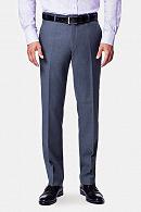 Spodnie business mix szary
