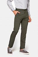 Spodnie męskie szaro-zielone Nobel