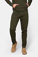 Spodnie zielone dresowe Swinton marki Lancerto