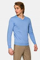 Sweter Bawełniany Matt Błękitny