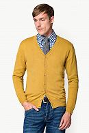 Kardigan Żółty Vintage