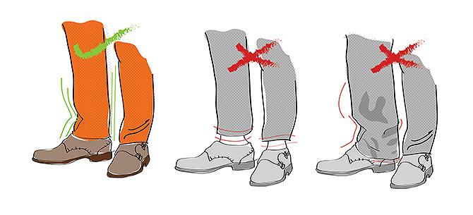 Spodnie do garnituru